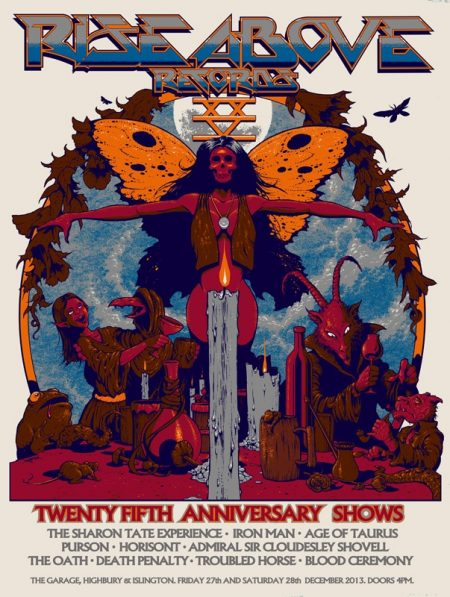 Arik Roper 25th Anniversary screenprint poster