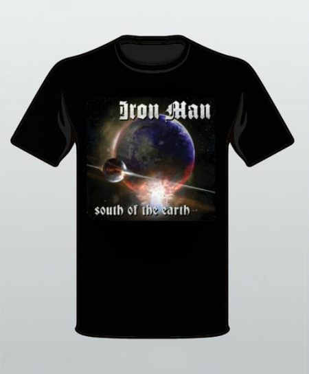 Iron Man South of the Earth T-Shirt
