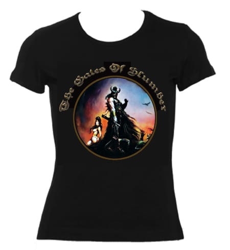 Hymns Of Blood & Thunder Girly Fit Shirt