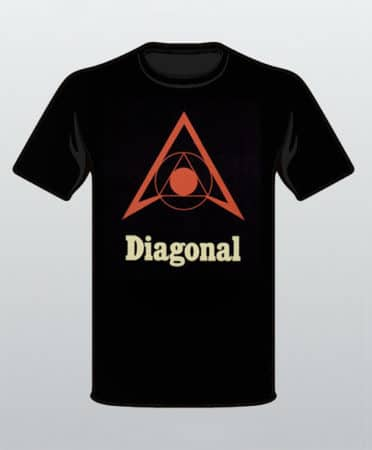 Diagonal Logo Shirt