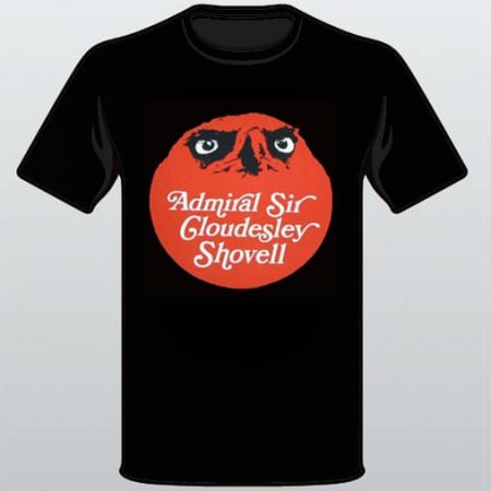 Admiral Sir Cloudesley Shovell Logo T-Shirt