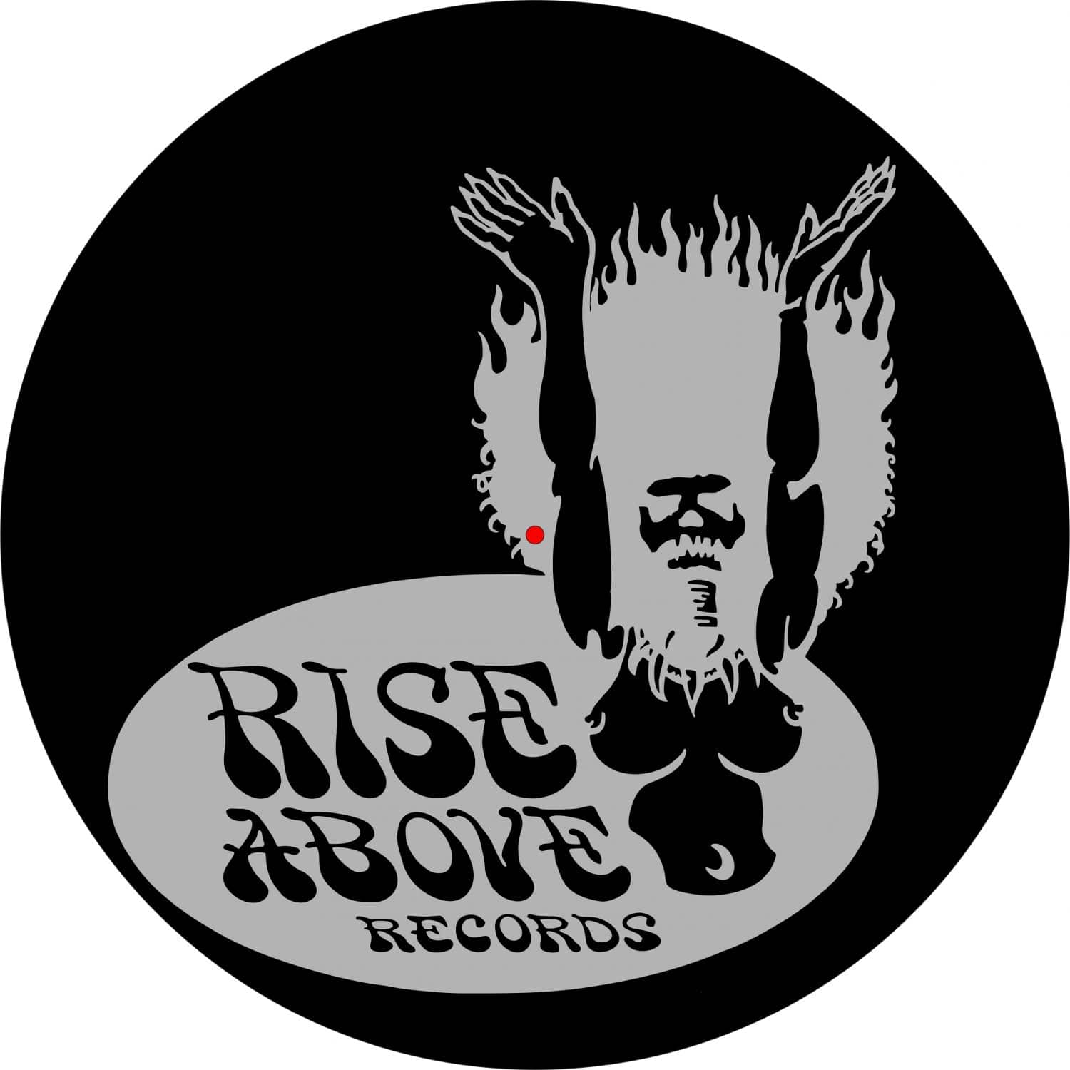 Official Rise Above Record Label Logo T-Shirt Rock Metal Band Age of Taurus